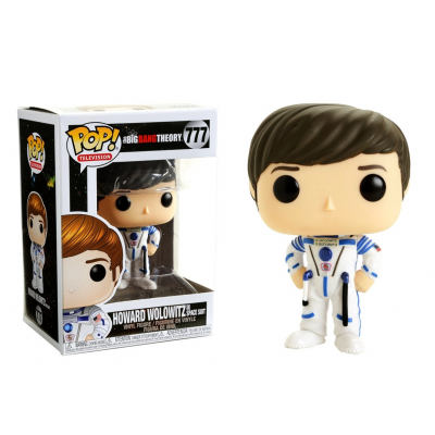 The Big Bang Theory S2 Howard Wolowitz in Space suit Pop! Funko