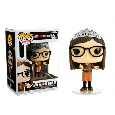 The Big Bang Theory S2 Amy Farrah Fowler with Tiara Pop! Funko