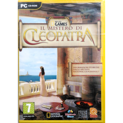 Gioco Pc Nat Geo Games - Il Mistero di Cleopatra