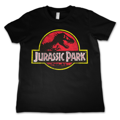 T-shirt Jurassic Park Distressed Logo vintage Kids