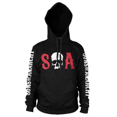 Felpa con cappuccio Sons Of Anarchy - S-O-A logo Hoodie