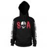 Felpa con cappuccio Sons Of Anarchy - S-O-A logo Hoodie sweatshirt Uomo Hybris