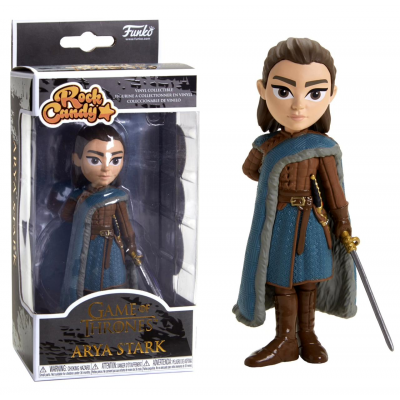 Game of Thrones Arya Stark Rock Candy vinyl collectible figure Funko