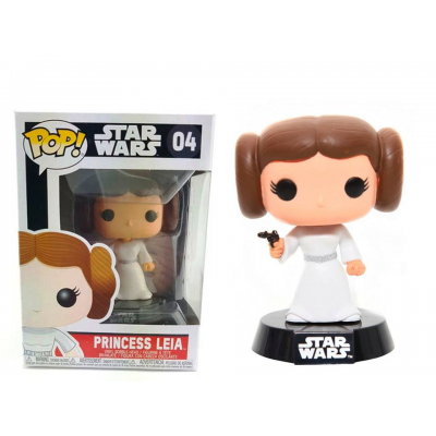 Princess Leia Star Wars Pop! Funko bobble-head Vinyl figure n° 04