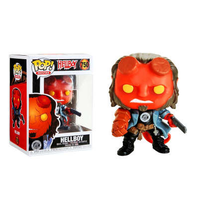 Hellboy with BPRD tee Pop! Funko movies vinyl figure n° 750