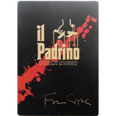 Dvd Il Padrino - La Trilogia cofanetto 5 Steelbook dischi
