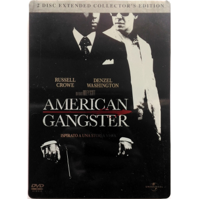 Dvd American Gangster - Extended Collector's Edition Steelbook 2 dischi