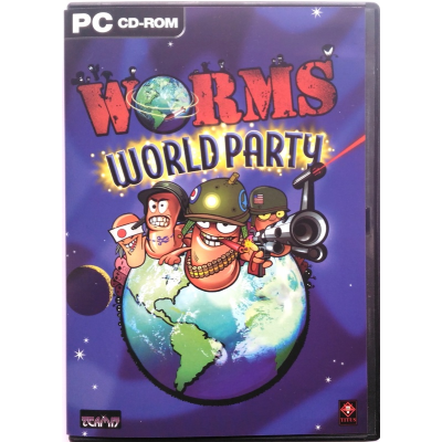 Gioco Pc Worms World Party