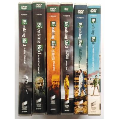 Dvd Breaking Bad - La Serie Completa - collezione 6 cofanetti