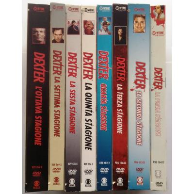 Dvd Dexter - Serie Completa - collezione 8 cofanetti Stagioni 1/8