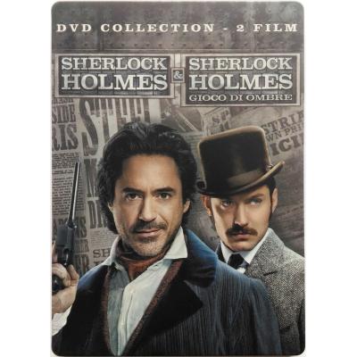 DVD Sherlock Holmes + Sherlock Holmes - Gioco di ombre