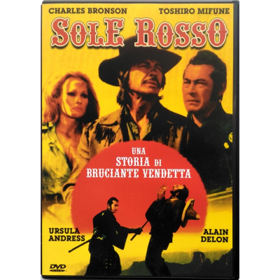 Dvd Sole Rosso di Terence Young 1971