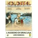 Dvd L'assedio di Siracusa (Archimede) - ed. Kolossal con Gino Cervi 1960 Usato