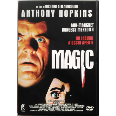Dvd Magic di Richard Attenborough con Anthony Hopkins 1978