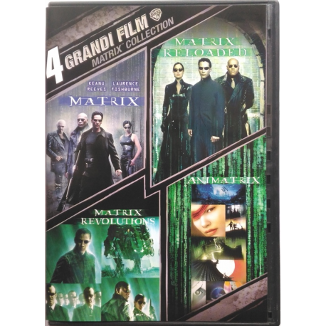 Dvd Matrix Collection - trilogia 3 film + Animatrix