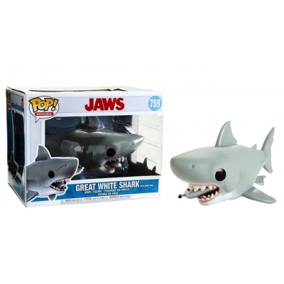 Lo Squalo Jaws Great White Shark with Diving tank Pop! Funko