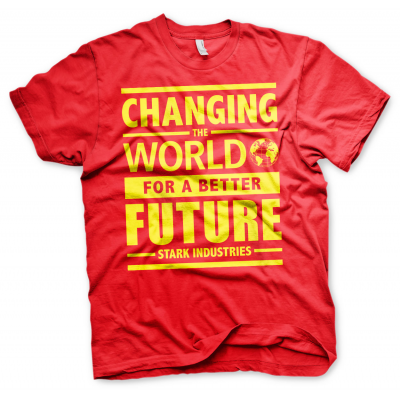 T-Shirt Avengers Stark Industries Changing World for a better future