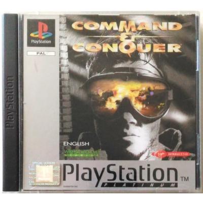 Gioco PSOne Command & Conquer Platinum