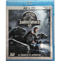Blu-ray Jurassic World (3D+2D) con Chris Pratt 2015 Usato