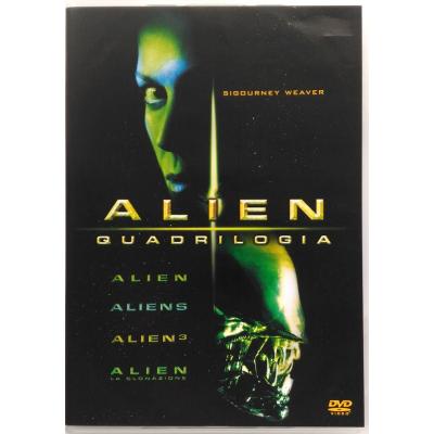 Dvd Alien - Quadrilogia