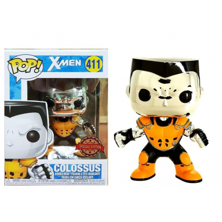 X-Men Colossus X-Force Silver Special ed Pop! Funko