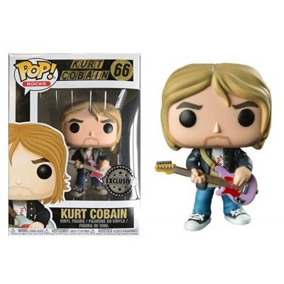Nirvana Kurt Cobain MTV's Live & Loud 1993 Exclusive Pop! Funko 66