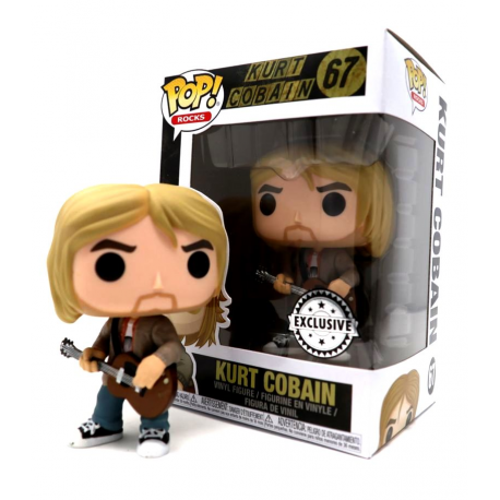 Nirvana Kurt Cobain MTV Unplugged 1993 Exclusive Pop! Funko