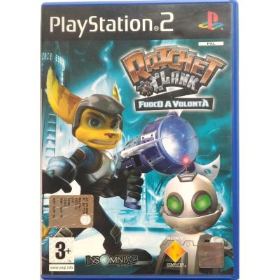 Gioco PS2 Ratchet & Clank 2 - Fuoco a volontà