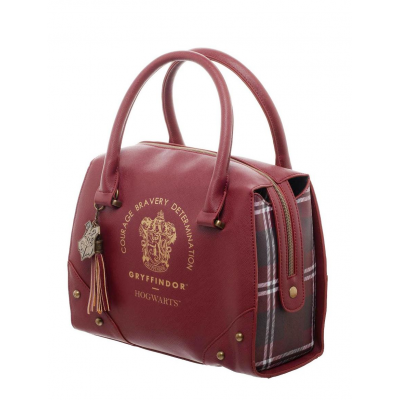 Borsa Harry Potter Gryffindor luxury Plaid top handbag borse Bioworld