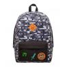 Zaino Minecraft Explorer Block Camo grey Backpack Bioworld