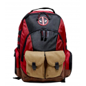 Zaino Marvel Deadpool Built Up Combat ready tactical Backpack Bioworld