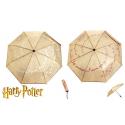 Ombrello Harry Potter Marauders Map liquid reactive magic Umbrella Bioworld