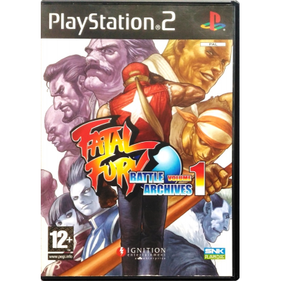 Gioco PS2 Fatal Fury Battle Archives Volume 1