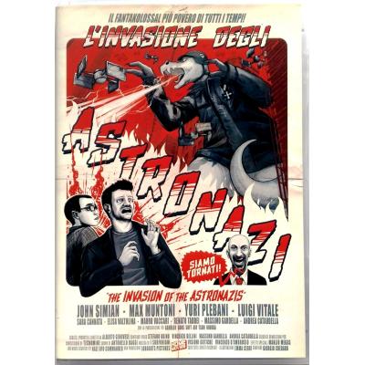 Dvd L'Invasione degli Astronazi - Edizione Limitata 500 copie 2009 Usato