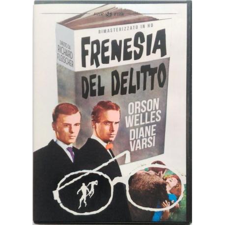 Dvd Frenesia del delitto
