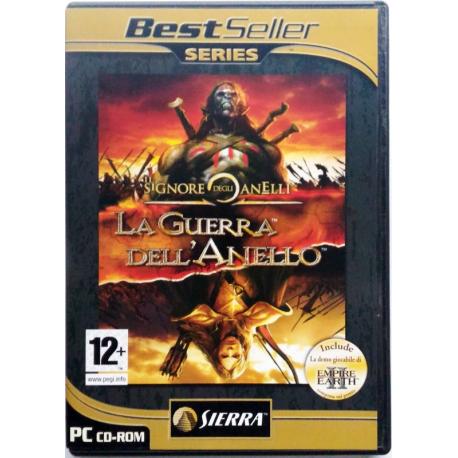 Gioco Pc Il Signore degli Anelli - La Guerra dell'Anello - Sierra 2004 Usato