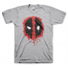 T-shirt Deadpool Splash icon face