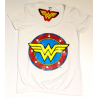 T-shirt Wonder Woman Distressed DC Logo Performance