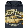 Felpa con cappuccio Breaking Bad - Heisenberg´s Desert Tours Camper