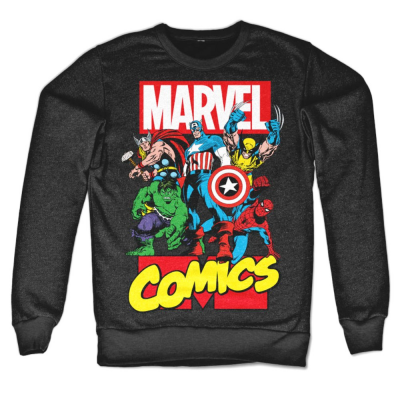 Felpa Marvel Comics Heroes supereroi Sweatshirt