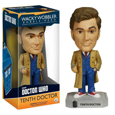 Bobble-head Doctor Who 10th Tenth Doctor