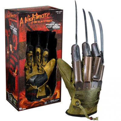 Guanto Freddy Krueger Nightmare on Elm street Prop Replica Glove Neca