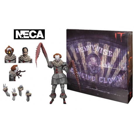 Action figure Ultimate Pennywise Dancing Clown Neca