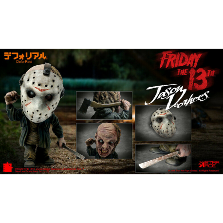 Statua Star Ace Friday the 13th Jason Voorhees Defo-Real