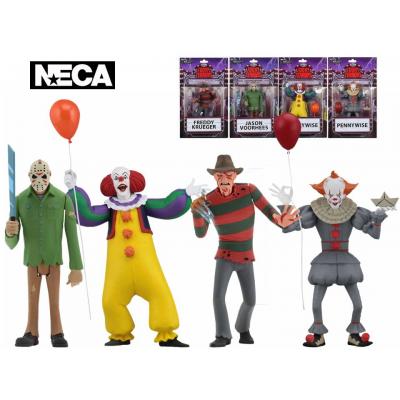 Action figure set 4 Toony Terrors Neca