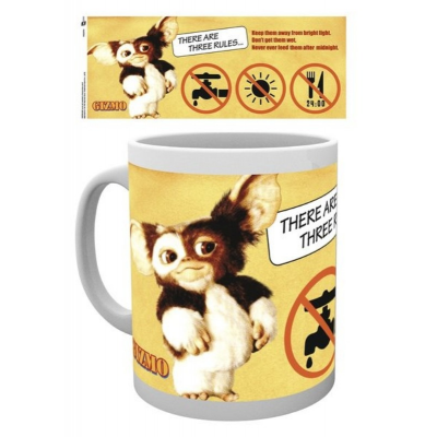 Tazza Gizmo Gremlins Three Rules Mug GB Eye