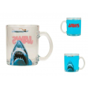 Tazza in vetro Jaws - Lo Squalo Poster transparent Glass Mug 10 cm SD Toys