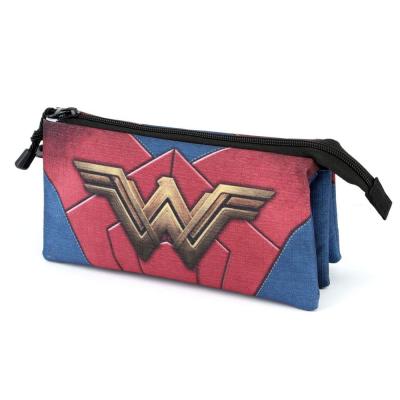 Astuccio DC Comics Wonder Woman Triple Compartment Pencil Case
