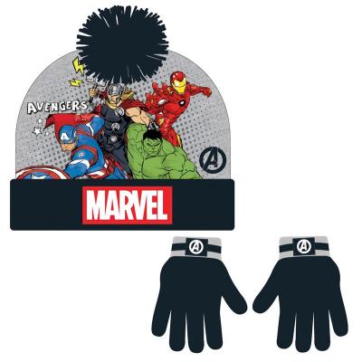 Berretta e guanti Marvel Avengers kids set Beanie Hat & Gloves