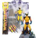 Action figure Wolverine yellow uniform Marvel select 16 cm by Diamond toys